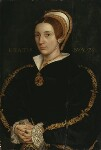 Unknown woman, formerly known as Catherine Howard, after Hans Holbein the Younger, late 17th century - NPG  - © National Portrait Gallery, London
