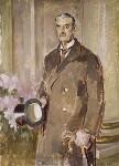 Neville Chamberlain, by Henry Lamb, circa 1939 - NPG  - © National Portrait Gallery, London