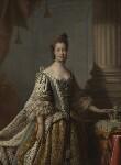 Sophia Charlotte of Mecklenburg-Strelitz, studio of Allan Ramsay, 1761-1762 - NPG  - © National Portrait Gallery, London