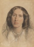 George Eliot (Mary Ann Cross (née Evans)), by Sir Frederic William Burton, 1865 - NPG  - © National Portrait Gallery, London