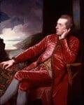 Richard Cumberland, by George Romney, circa 1776 - NPG  - © National Portrait Gallery, London