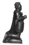 Henry Stuart, Lord Darnley, by Elkington & Co, cast by  Domenico Brucciani, after  Unknown artist, 1873, based on a work of circa 1560-1565 - NPG  - © National Portrait Gallery, London