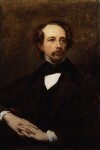 Charles Dickens, by Ary Scheffer, 1855 - NPG  - © National Portrait Gallery, London