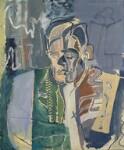 T.S. Eliot, by Patrick Heron, 1949 - NPG  - © Patrick Heron/ DACS 2019