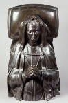 Elizabeth of York, by Elkington & Co, cast by  Domenico Brucciani, after  Pietro Torrigiano, 1870, based on a work of circa 1512-1518 - NPG  - © National Portrait Gallery, London