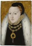 Queen Elizabeth I, by Unknown English artist, circa 1560 - NPG  - © National Portrait Gallery, London
