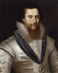 Robert Devereux, 2nd Earl of Essex, after Marcus Gheeraerts the Younger, early 17th century, based on a work of circa 1596 - NPG  - © National Portrait Gallery, London