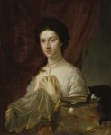 Kitty Fisher, by Nathaniel Hone, 1765 - NPG  - © National Portrait Gallery, London