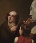 John Flaxman; Thomas Alphonso Hayley, by George Romney, 1795 - NPG  - © National Portrait Gallery, London