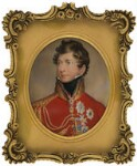 King George IV, by Johann Paul Georg Fischer, after  Sir Thomas Lawrence, before 1875, based on a work of 1815 - NPG  - © National Portrait Gallery, London