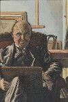 Charles Ginner, by Charles Ginner, 1940s - NPG  - © reserved; collection National Portrait Gallery, London