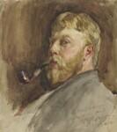 Edward John Gregory, by Edward John Gregory, 1879 - NPG  - © National Portrait Gallery, London