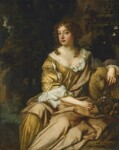Unknown woman, formerly known as Nell Gwyn, studio of Sir Peter Lely, circa 1675 - NPG  - © National Portrait Gallery, London