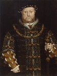 King Henry VIII, by Unknown artist, perhaps early 17th century, based on a work of circa 1542 - NPG  - © National Portrait Gallery, London