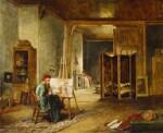 William Holman Hunt, by John Ballantyne, 1865 - NPG  - © National Portrait Gallery, London