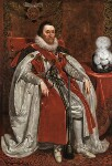 King James I of England and VI of Scotland, by Daniel Mytens, 1621 - NPG  - © National Portrait Gallery, London