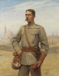 Herbert Kitchener, 1st Earl Kitchener, by Sir Hubert von Herkomer, and  Frederick Goodall, 1890 - NPG  - © National Portrait Gallery, London