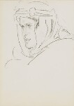 T.E. Lawrence, by Augustus John, 1919 - NPG  - © National Portrait Gallery, London