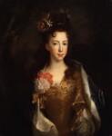 Princess Louisa Maria Theresa Stuart, attributed to Alexis Simon Belle, circa 1702-1706 - NPG  - © National Portrait Gallery, London