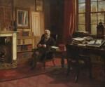 Thomas Babington Macaulay, Baron Macaulay, by Edward Matthew Ward, 1853 - NPG  - © National Portrait Gallery, London