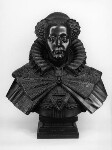 Mary, Queen of Scots, by Elkington & Co, cast by  Domenico Brucciani, after  Cornelius and William Cure, 1870, based on a work of circa 1606-1616 - NPG  - © National Portrait Gallery, London