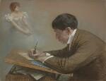 Phil May, by Sir Robert Ponsonby Staples, Bt, 1898 - NPG  - © National Portrait Gallery, London