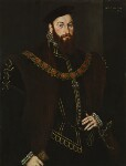 Anthony Browne, 1st Viscount Montagu, by Hans Eworth, 1569 - NPG  - © National Portrait Gallery, London