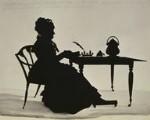 Hannah More, by Augustin Edouart, 1827 - NPG  - © National Portrait Gallery, London