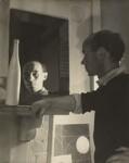 Ben Nicholson, by Humphrey Spender, circa 1935 - NPG  - © National Portrait Gallery, London