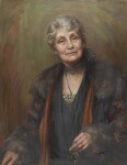 Emmeline Pankhurst, by Georgina Agnes Brackenbury, 1927 - NPG  - © National Portrait Gallery, London