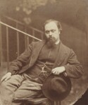 Dante Gabriel Rossetti, by Lewis Carroll (Charles Lutwidge Dodgson), 7 October 1863 - NPG  - © National Portrait Gallery, London