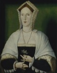 Unknown woman, formerly known as Margaret Pole, Countess of Salisbury, by Unknown artist, circa 1535 - NPG  - © National Portrait Gallery, London