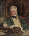 Sir Walter Scott, 1st Bt, by Sir Edwin Henry Landseer, circa 1824 - NPG  - © National Portrait Gallery, London