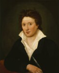 Percy Bysshe Shelley, by Amelia Curran, 1819 - NPG  - © National Portrait Gallery, London