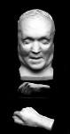 William Makepeace Thackeray, by Domenico Brucciani,  - NPG  - © National Portrait Gallery, London