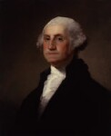 George Washington, by Gilbert Stuart, probably 19th century, based on a work of 1796 - NPG  - © National Portrait Gallery, London