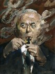 Harold Wilson, by Ruskin Spear, exhibited 1974 - NPG  - © National Portrait Gallery, London