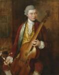 Karl Friedrich Abel, by Thomas Gainsborough, circa 1765 - NPG  - © National Portrait Gallery, London