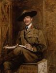 Robert Baden-Powell, by Sir Hubert von Herkomer, 1903 - NPG  - © National Portrait Gallery, London