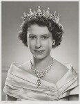 Queen Elizabeth II, by Yousuf Karsh, 1951 - NPG  - © Karsh / Camera Press