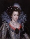 Princess Elizabeth, Queen of Bohemia and Electress Palatine, by Unknown artist, 1613 - NPG  - © National Portrait Gallery, London