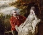 David Garrick; Eva Maria Garrick (née Veigel), by Sir Joshua Reynolds, 1772-1773 - NPG  - © National Portrait Gallery, London