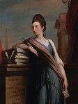 Catharine Macaulay (née Sawbridge), by Robert Edge Pine, circa 1775 - NPG  - © National Portrait Gallery, London