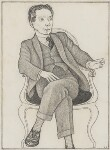 Compton Mackenzie, by Powys Evans, 1920s? - NPG  - © estate of Powys Evans