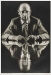 Sir Clive Sinclair, by Simon Lewis, 1985 - NPG  - © Simon Lewis