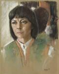 Dame Dorothy Tutin, by Trevor Stubley, 1980 - NPG  - © National Portrait Gallery, London