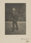 James Abbott McNeill Whistler, by Unknown photographer, Summer 1885 - NPG  - © National Portrait Gallery, London