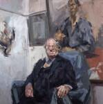John Mortimer, by Tai-Shan Schierenberg, 1992 - NPG  - © National Portrait Gallery, London