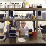 Frederick Sanger, by Paula MacArthur, 1991 - NPG  - © National Portrait Gallery, London