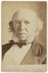 Herbert Spencer, by Elliott & Fry, 1890 - NPG  - © National Portrait Gallery, London